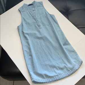 Abercrombie&fitch denim dress sz small